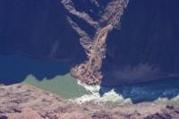 望遠でコロラド川
