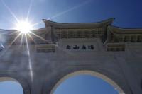 中正紀念堂の大きな門