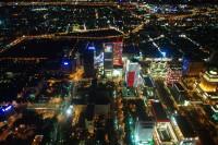101タワー85Fからの夜景、絶景