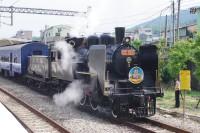 台湾にも蒸気機関車がある
